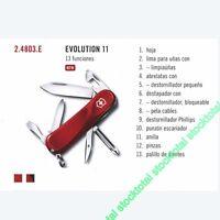 Navaja victorinox evolution 11 13 FUNCIONES 24803E