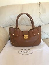 Prada Brown Bag Hobo Shoulder, 100% Authentic, Very Good Con, STUNNING!