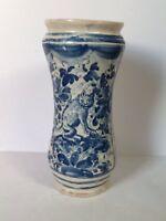 Antico Albarello Del 700 originale in ceramica