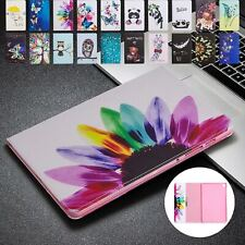 """For Samsung Galaxy Tab A 8.4"""" T307 2020 Patterned Leather Folio Stand Case Cover"""