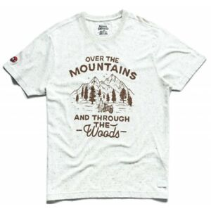 Royal Enfield Himalayan Over The Mountains Motorcycle Scrambler Bike T Shirt