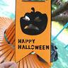 Halloween bunting Witch Pumpkin Paper Chain Garland Banner party Decor