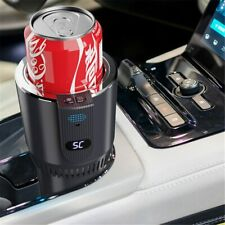 DC 12V Car Heating Cooling Cup 2-in-1 Car Office Cup Warmer Cooler Smart Car Cup