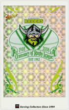 2008 Select NRL Centenary Of Rugby League Holofoil Club Logo CL3 Raiders