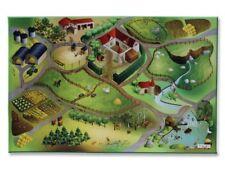 Kinderspielteppich Spielteppich Auf dem Land Connect Phthalat-frei | 100x150cm