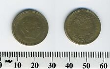 Spain 1953 (63) - 1 Peseta Aluminum-Bronze Coin - Francisco Franco, caudillo