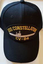 U.S. NAVY USS CONSTELLATION CV-64 Military Ball Cap