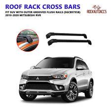 Universal Roof Rack Crossbars Fit 2010 - 2020 Mitsubishi RVR Flush Roof Rails