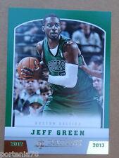 Panini NBA 2012-13 #79 JEFF GREEN Boston Celtics GOLD KNIGHT