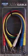 Patchkabel Set / Patchcable / mit Stereo-Klinke länge 60cm / farbig