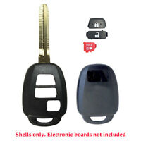Compatible with Toyota Tacoma 2015 2016 2017 2018 2019 Remote Key Case Shell