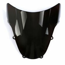 Black Windscreen Windshield Screen For Suzuki GSXR 600/750 2001 2002 2003 K1