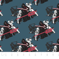 Star Wars: The Force Awakens Imperial Camelot 100% cotton Fabric by the yard