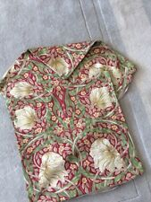 "SALE 2 Cushion Covers W Morris Pimpernel Red Design 16.5"" Sanderson Fabric 2"