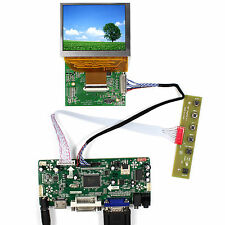 "3.5"" PD035VX2 640x480 LCD Screen With HDMI VGA DVI Audio LCD Controller Board"