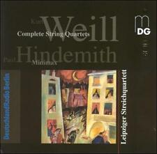 Weill: Complete String Quartets; Hindemith: Minimax, New Music