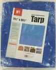 Blue Tarp 7' x 9', Multi-purpose Waterproof Poly Tarp 4 Mil, Sealed in Package