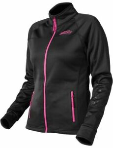Castle X Fusion Womens Mid-Layer Jacket Black Pink Base Shirt SMALL Snowmobile