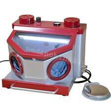Dental Lab Blasting Unit Sandblaster Five Pen Four Tank Equipment LED Light FDA