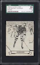 1936-37 V304 O-Pee-Chee Series D #98 Sweeney Schriner (HOF) Rookie Card SGC 88
