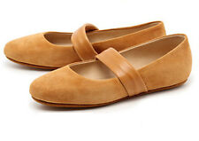 YIN Genny Flat Shoes Cuoio Gold-Brown 36 6