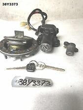 YAMAHA  R6  2000   IGNITION LOCK SET AND KEY  GENUINE OEM  LOT38  38Y3373 - M630