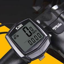 Waterproof Wireless LCD Digital Cycle Bike/Bicycle Computer Speedometer Odometer