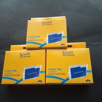 3 Black Ink Cartridges Remanufacture for Epson T0541 PBK Stylus Photo R800 R1800