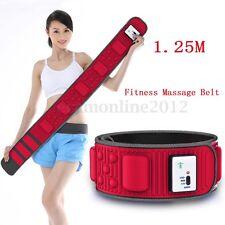 Fitness Electric Massage Belt Abdominal Tummy Slimming Lose Weight Belly Burner