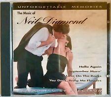 The Music of Neil Diamond Unforgettable Memories CD Preformed by Spectrum