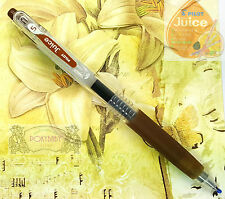 1 pc Pilot  LJU-10EF Juice ball point pen 0.5mm,EXtra fine Coffee BROWN ink