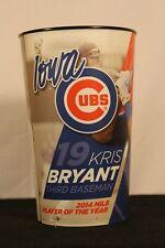 "2015 Iowa Cubs Kris Bryant Souvenir Beer/Soda Cup. 6.5"" tall 4"" radius."