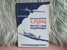 Buch Die theoretische A2 Prüfung Motor & Segelflieger Wehrmacht Flugzeugteile