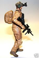 1:18 BBI Elite Force U.S Special Forces Recon  SEAL Delta Figure Soldier 3 3/4""