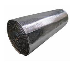 1Roll Car Sound Proofing Deadening Insulation Heat 10mm Foam Glass Fibre 50X100
