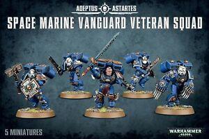 Space Marines Vanguard Veteran Squad 48-18 Games Workshop GW Warhammer 40k BNIB