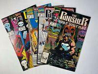 The Punisher War Journal lot of Five Comics: 17, 31, 32, 43, 46 Marvel