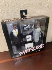 "They Live 8"" Retro Clothed Action Figure Alien 2 Pack NECA Rare Chase Obey"