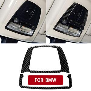 Carbon Fiber Interior Reading Light Cover Trim For BMW 5Series F10 GT F07 X3 F25
