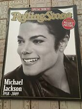 ROLLING STONE Magazine Michael Jackson Tribute with Posters, collectors edition
