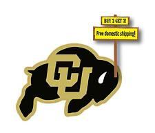 University of Colorado Buffaloes NCAA UC Decal/Sticker C20