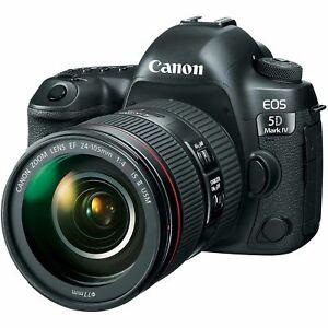 "Canon EOS 5D Mark IV 24-105mm 30.4mp 3.2"" Brand New jeptall"