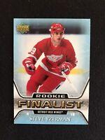 2005-06 Upper Deck All-Time Greatest Steve Yzerman #71 Rookie Finalist Detroit
