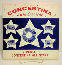 Chicago Concertina All Stars, Concertina Jam Session, Ampol, LP 5016, VG+/VG+/NM