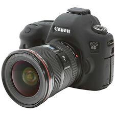 easyCover Canon 6D EA-ECC6DB Camera Protective Case Black Silicone FREE SHIPPING