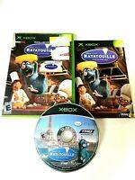 DISNEY PIXAR Ratatouille (ORIGINAL Microsoft Xbox, 2007) GAME COMPLETE w/MANUAL