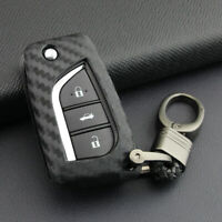 2019 Key Fob Chain For Toyota Camry C-HR 2018-2020 Accessory Case Cover Keychain