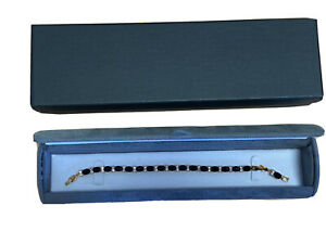 Grey Velvet Dome Dubai Range leather Bracelet Box Perfect Box Free Postage Gift