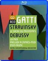 Royal Concertgebouw Orchestra - Stravinsky: Le Sacre Du PRINTE NUOVO Blu-Ray