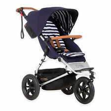 Mountain Buggy 2016 Urban Jungle Luxury Collection Stroller Nautical Brand New!